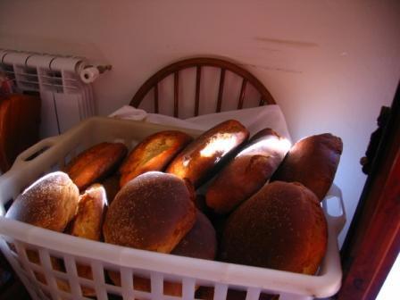 Schwarsez Brot aus Castellvetrano
