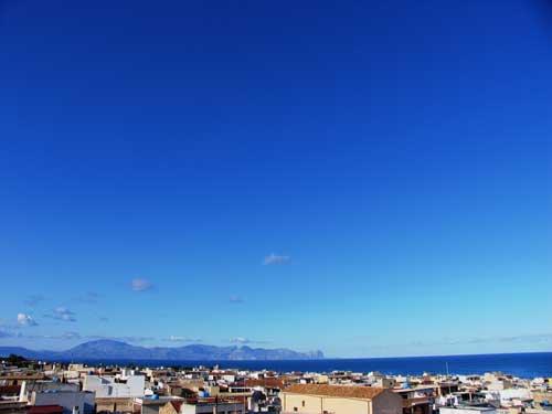 Terrasini im Januar