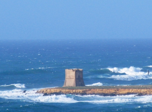 Terrasini Blick in Richtung Punta Raisi